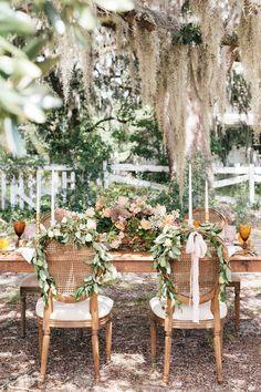 Elegant southern fall wedding ideas on Mobile Bay