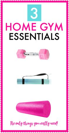What essentials do you need for your home gym? Find out here. | Posted By: CustomWeightLossProgram.com