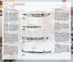 Pupparin, Mascareta, Caorlina and Gondolino boats