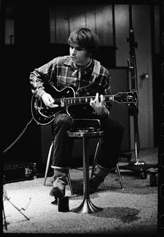 John Fogerty during a recording session for Creedence Clearwater Revival's album Pendulum, at the Wally Heider Studios in San Francisco, Sept. 15, 1970*Photo by Ed Caraeff