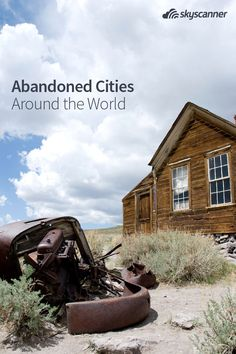 Everyone can vacation in a huge metropolis, but what about going to a ghost town? Here are some amazing abandoned cities you can actually visit.