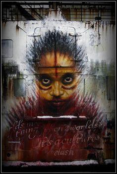 DALE GRIMSHAW http://www.widewalls.ch/artist/dale-grimshaw/ #street #art