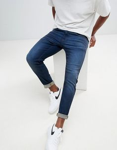 bc07b40434 G-Star 3301 slim jeans vintage dk aged