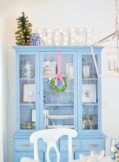 Pink and Blue Holiday Home