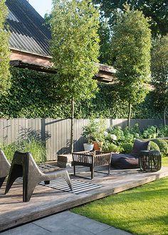 nl villatuinen kindvriendelijke-tuin-in-elspeet. Outside Room, Outside Living, Outdoor Living, Back Gardens, Outdoor Gardens, Minimalist Garden, Small Courtyards, Contemporary Garden, Garden Landscape Design