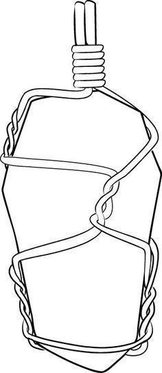 DIY Bijoux - 6-Step Wire-Wrapped Pendant Tutorial - ListSpirit.com - Leading Inspiration, Culture, & Lifestyle Magazine