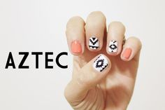 Aztec Nail Sticker Vinyl Decals.  Assorted Pack of 50 by stickitvinyl, $3.99