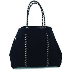 Neoprene Mommy Diaper Bag (Black)
