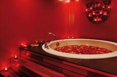 ... romantique petales de lieu romantique bain fleurs bain romantique bain