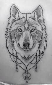 434 Mejores Imágenes De Lobo Tattoo En 2019 Wolf Tattoos Animal