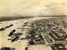 Hooghly River and Kolkata from 1945