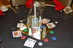 This was a casino theme party for 64 guests. Casino Theme Parties, Casino Party, Party Themes, The Hamptons, Gift Wrapping, Fun, Gift Wrapping Paper, Gift Packaging, Present Wrapping