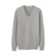 Gret Cotton Cashmere V Neck Sweater£29.90