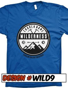 FREE SHIPPING on all Wilderness Escape VBS - VBS T-Shirt Designs