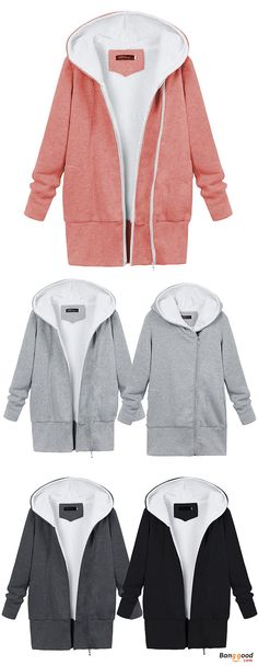 US$30.29 + Free shipping.Winter Women Warm Hooded Cotton Jacket Fluffy Outdoor Coats. Color: Black, Dark Gray, Light Gray, Pink. Suitable for the coming fall & winter.#shopping #fashion #style #fallfashion #fallstyle #winterfashion #winterstyle #womens #hooded #jackets #coats