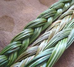 "Sweet Grass ~ after you have had your house smoked to remove negativity or bad spirits, you burn the Sweet Grass to ""sweeten"" or bring goodness in your home. #shaman tools"
