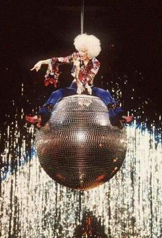 Girlie Show 1993, Express Yourself- my favorite segment of the show! This disco ball was badass!  #madonna #madonnagirlieshow #girlieshow