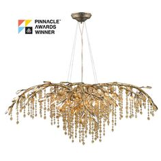 Found it at Joss & Main - Theo 12-Light Chandelier in Mystic Gold