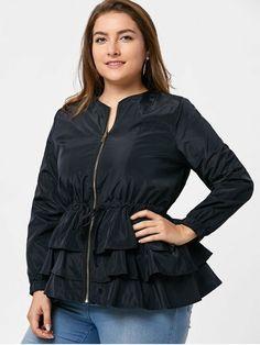 daca408487c2a Dollhouse Plus Size Hooded Faux-Fur-Trim Pea Coat