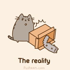 Pusheen cat CyBeRGaTa: Cat Gifs Galore - Too Much Cuteness For One Page