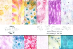 Watercolor Textures - Fairy Tale Dream  Image