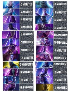 INVITY war characters times