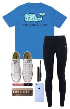 """""""Vineyard Vines Tag!"""" by toonceyb ❤ liked on Polyvore featuring Vineyard Vines, NIKE, Converse, MAC Cosmetics, NARS Cosmetics and Urban Decay"""
