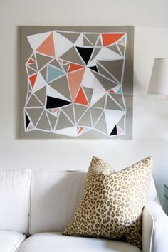 check out this DIY project, using Mycolor inspired by Pantone paints.    Kristen Davis is crazy creative....she's definitely one to watch.  I'm just proud that I hired her for her first decorative painting gig.