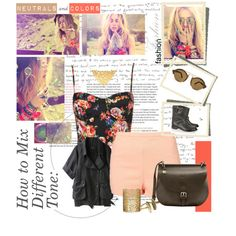 Neutrals and Colors, created by reenz on Polyvore