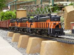 g scale trains | Learning G Scale Model Trains | Model Train Railroads