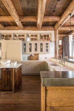 HOME DECOR – RUSTIC STYLE – what is not to love about this kitchen! OMG!