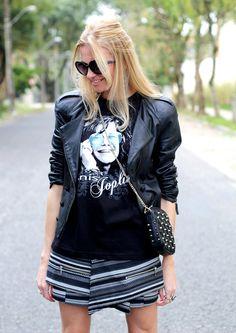 Assimetric skirt on blog My Little Way