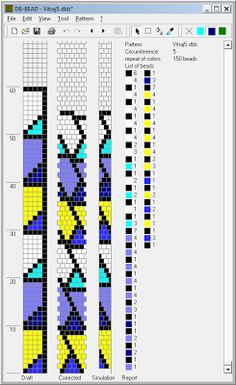 Free Crochet Bead Pattern Round 5