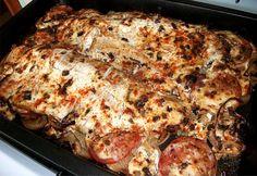 Fish Recipes, My Recipes, Yummy Food, Tasty, Hungarian Recipes, Lasagna, Chicken, Ethnic Recipes, Foods