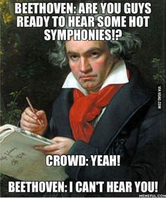 Oh, Beethoven.