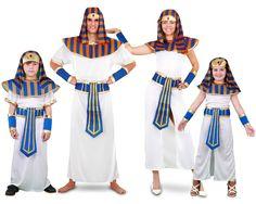 Familia de Faraones #disfraces #carnaval #disfracesparagrupos Pharoah Costume, Costume Famille, Egyptian Costume, Cleopatra, Kids Fashion, Dress Up, Costume Ideas, Crochet Dolls, Fashion Plates