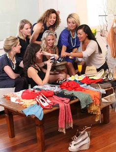 8. Clothing Swap Party... - 8 Fun Ideas for a Girls' Night in ... | All Women Stalk