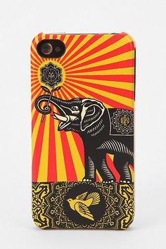Shepard Fairey X Incase iPhone 4/4S Case - Gold