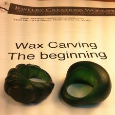Great wax carving class this weekend! @JewelryCreationsWorkshop #jewelry…