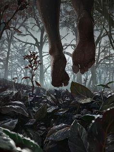 Las ilustraciones con temática de ciencia ficción, fantasía y horror de Michael MacRae