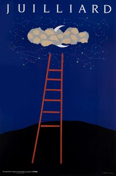 Milton Glaser | Store | Juilliard IV, Ladder, 1988