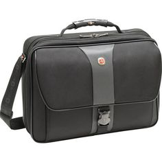 "Wenger 17"" Legacy Notebook Case Black/Gray WA-7497-14F00"