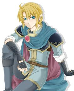 Link in Marth's clothes - So is it the clothes that makes a guy pretty or are both Link and Marth pretty?