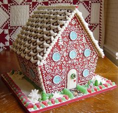 AMAZING ginger bread house!