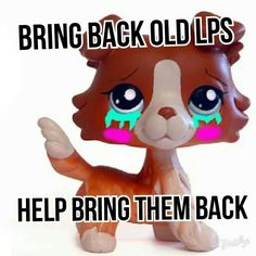 GUYS HASBRO IS RELEASING THE OLD LPS BACK! BY THE END OF THE YEAR THEY WILL BE AT THEIR USED TO BE PRICES AND BE BACK IN STORE! THERE ARE ALREADY SOME AT WALMART.COM