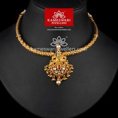 Gold Mangalsutra Designs, Gold Jewellery Design, Gold Jewelry, India Jewelry, Bead Jewellery, Temple Jewellery, Simple Jewelry, Ppr, Necklace Online