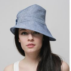 1940's style line hat