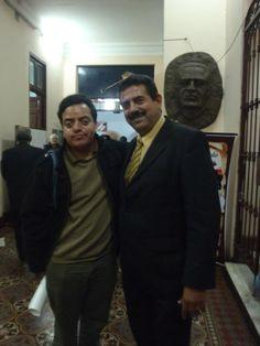 Con el Congresista Manuel Merino. (2011)