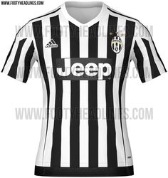 Juventus Stylish Home Soccer Jersey. The team badge is on the left side and the  adidas logo is on the right side. The design of the shirt is traditional  and ... 239c4364e