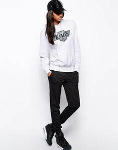 Majestic La Kings Hoodie (White) Size:M at ASOS RRP £45.00